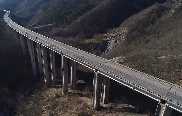 Riapertura del Viadotto Puleto sulla E45, ai mezzi pesanti.