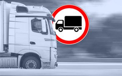 DVI21341 – Divieti di circolazione in Italia per i mezzi pesanti. Riepilogo delle limitazioni in vigore nel periodo estivo.