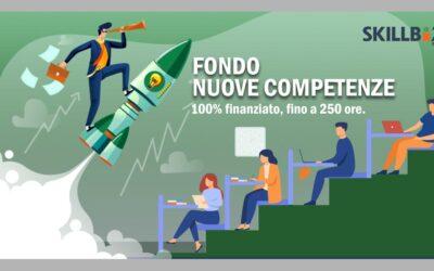 Formazione finanziata Fondo Nuove Competenze